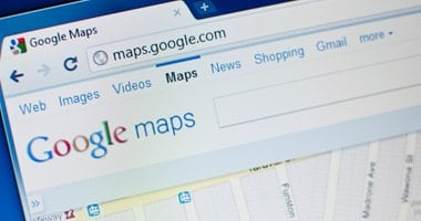 Google maps search engine