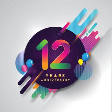 Today, I celebrate 12 years in business!